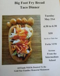 Big Foot Fry Bread Taco Dinner @ Forks VFW Hall | Forks | Washington | United States