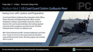Studium West US Coast Guard Station Quillayute River @ Peninsula College | Forks | Washington | United States