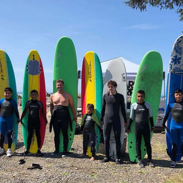 Warm Current Surf Camp @ Hoh Indian Reservation Beach | Washington | United States