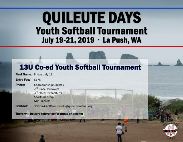 Quileute Days Youth Softball Tournament