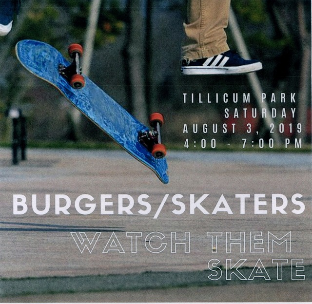 Burgers / Skaters @ Tillicum Park | Washington | United States