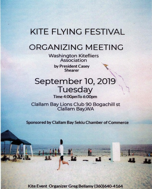 Kite Flying Festival @ Clallam Bay Lions Club | Clallam Bay | Washington | United States