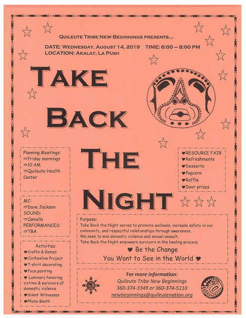 Take Back The Night @ La Push WA