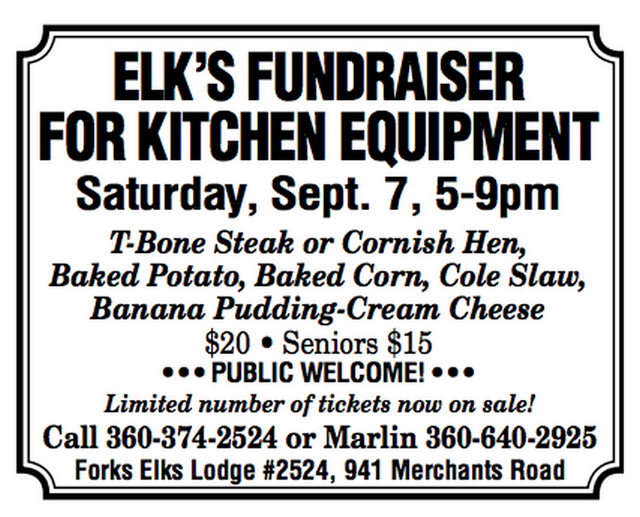 Elk's Fundraiser For Kitchen Equipment @ Forks Elk's Lodge 2524 | Knoxville | Tennessee | United States