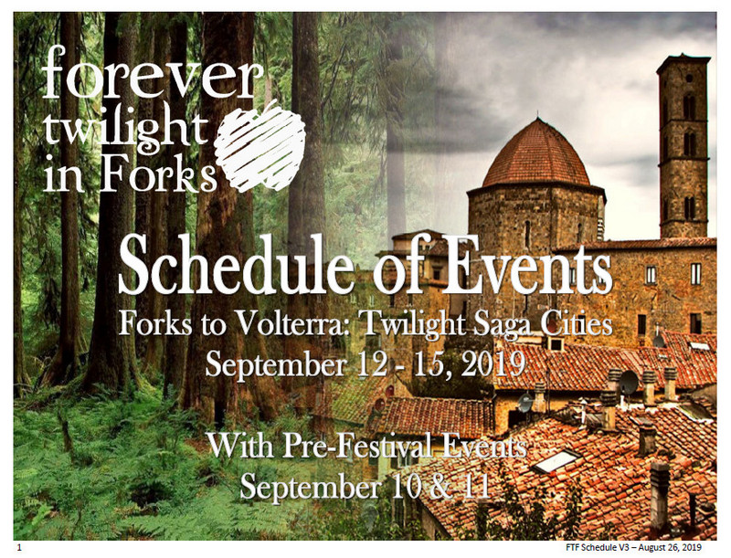 Forever Twilight in Forks Festival | Forks Washington