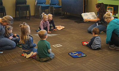 EVENING STORYTIME @ Forks Branch Library | Forks | Washington | United States