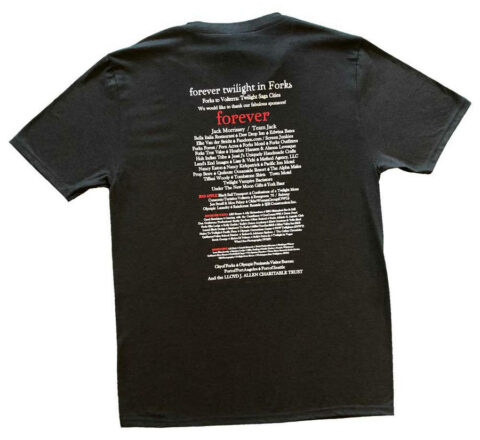 Back of FTF t-shirt