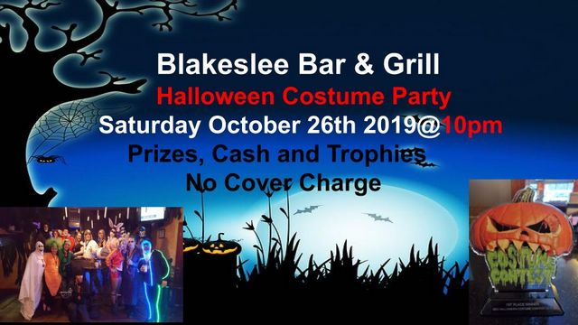 Blakeslee Bar & Grill Halloween Costume Party @ BBG's | Forks | Washington | United States