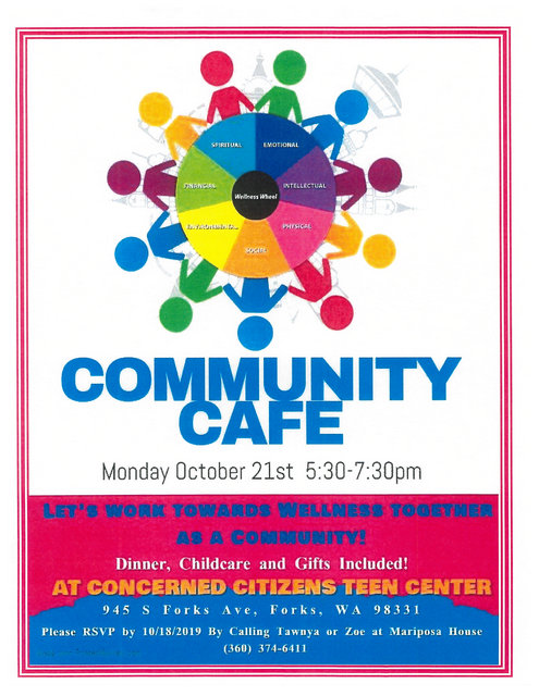 Community Cafe @ Concerned Citizens Teen Center | Forks | Washington | United States