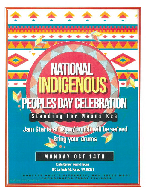 National Indigenous Peoples Day Celebration @ Ki'tla Roundhouse | Forks | Washington | United States