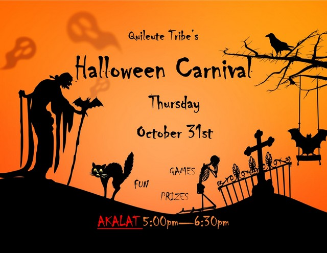 Quileute Tribe's Halloween Carnival @ Akalat Center   La Push   Washington   United States