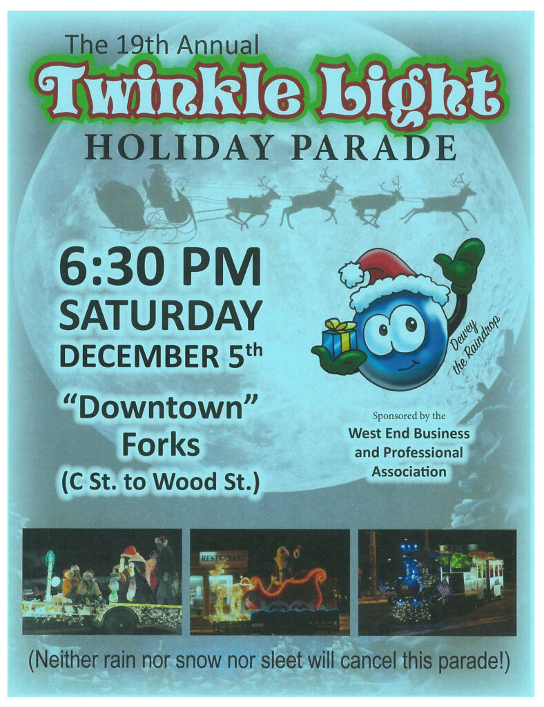 Twinkle Light Parade Flyer