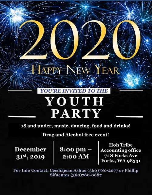2020 Youth Party @ Hoh Tribe Accounting Office | Forks | Washington | United States