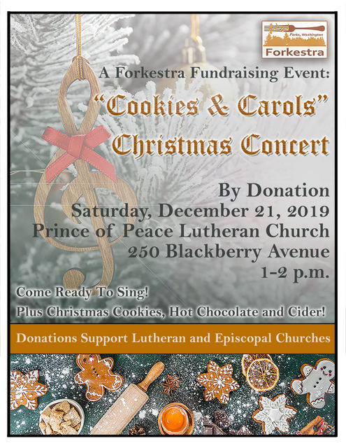"""Cookies & Carols"" Christmas Concert @ Prince of Peace Lutheran Church 