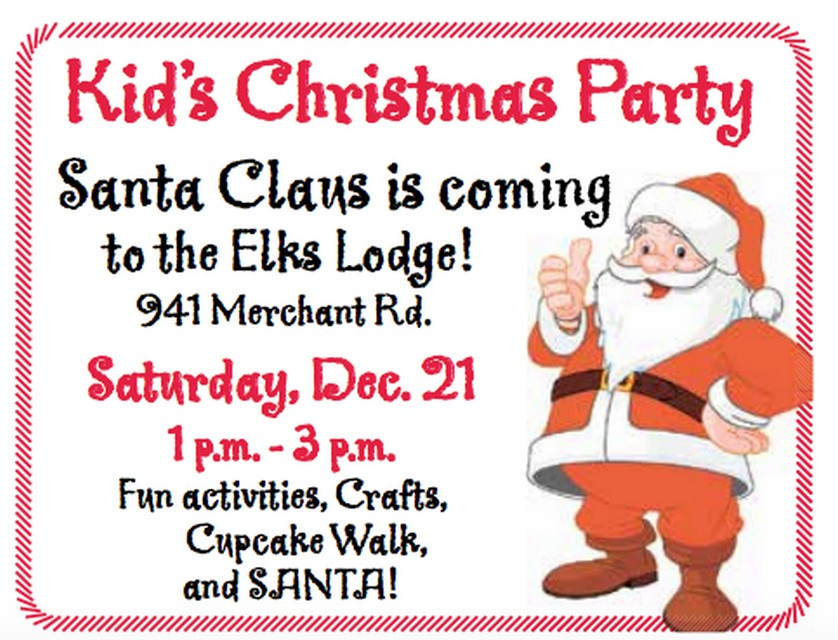 Kids Christmas Party | Forks Washington