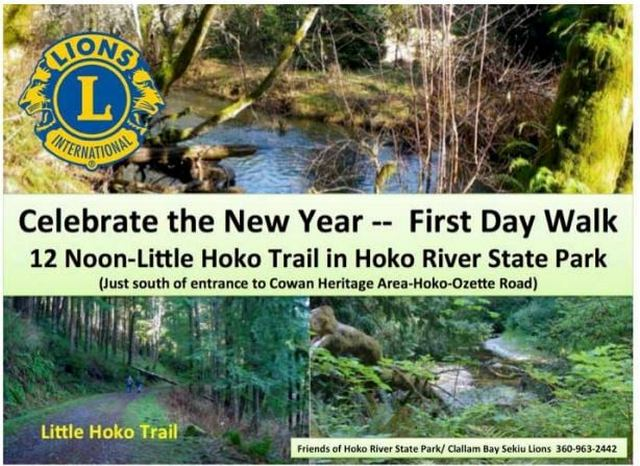 Celebrate the New Year--First Day Walk @ Hoko River State Park | Washington | United States