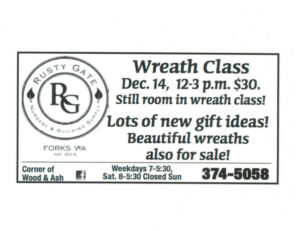 Wreath Class @ Rusty Gate | Forks | Washington | United States
