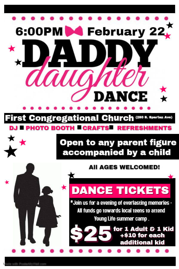 Daddy Daughter Dance @ First Congregational Church | Forks | Washington | United States
